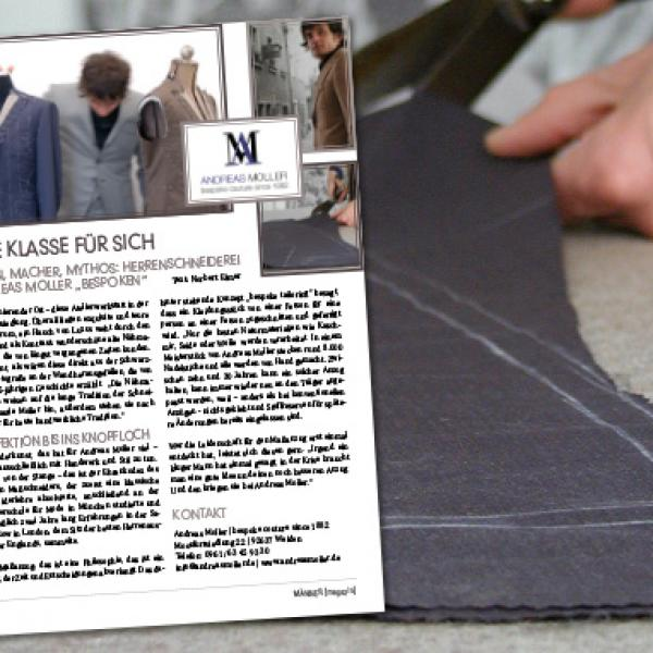 Andreas Moller – bespoke couture since 1882